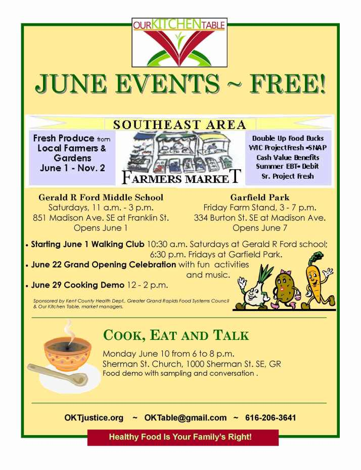 June events 2013