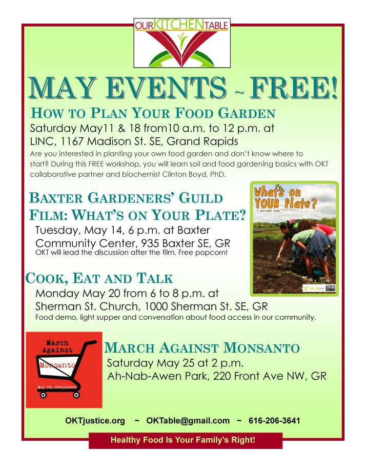 May events 2013