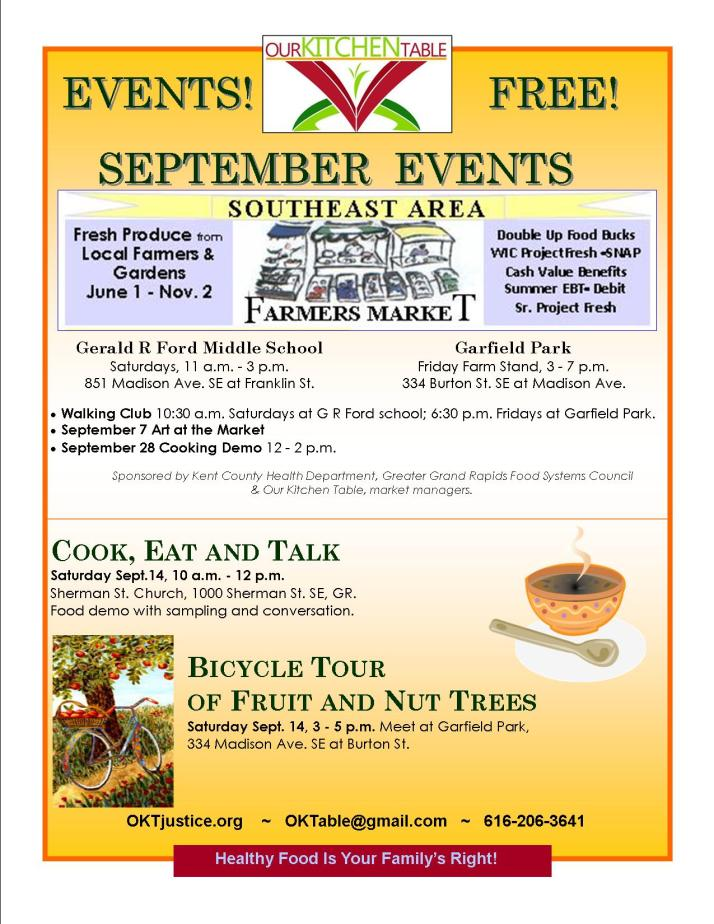 Sept events 2013
