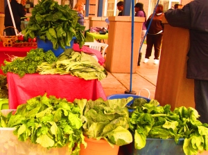 The Tolbert's greens were a hit all season long during the 2012 market.