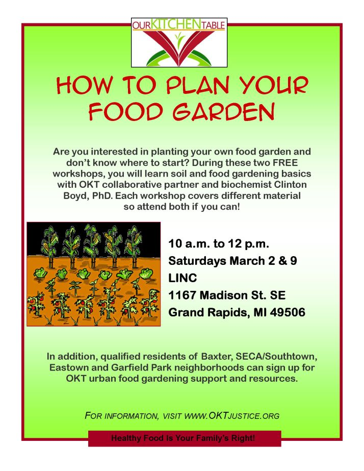 How to Plan Your Food Garden 2013