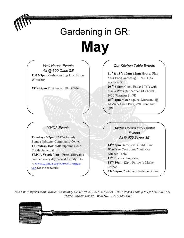 Gardening in GR May 2013