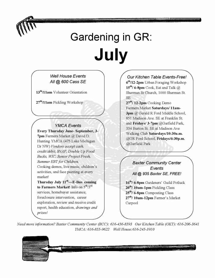 Gardening in GR July 2013