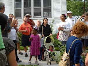 The 2012 tour brought out friends and neighbors of all ages.