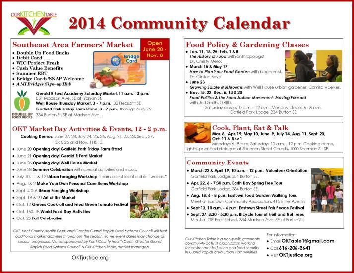 Community Calendar 2014 12-2-2013