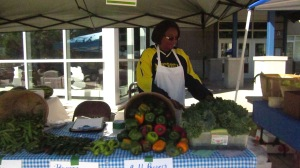 A large portion of purchases at the Southeast Area Farmers market are made ith SNAP benefits.