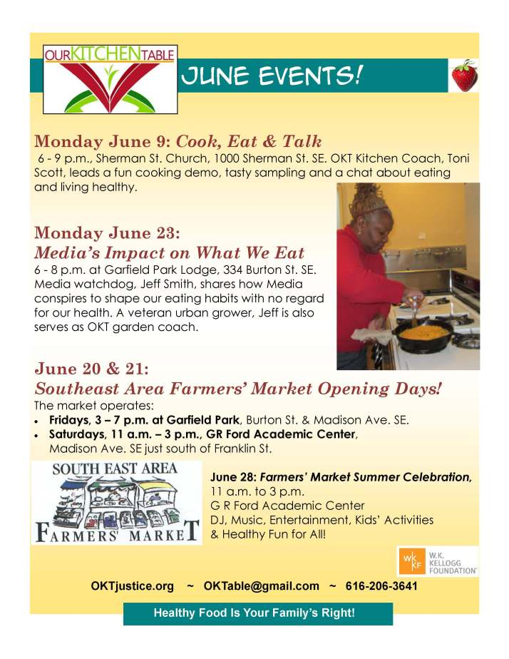 June events 2014