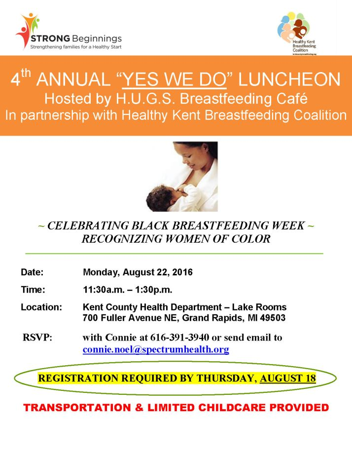 YWD Luncheon Flyer