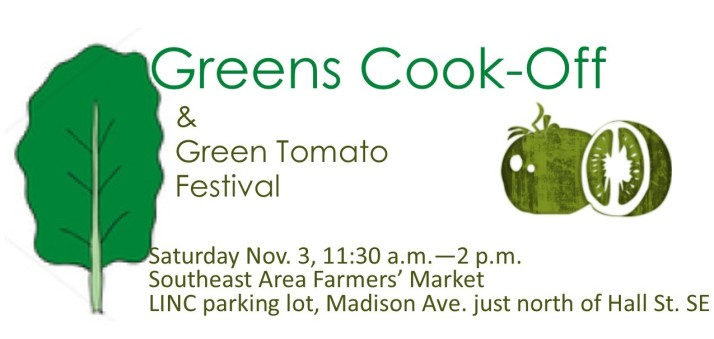 Greens Cook Off banner 2