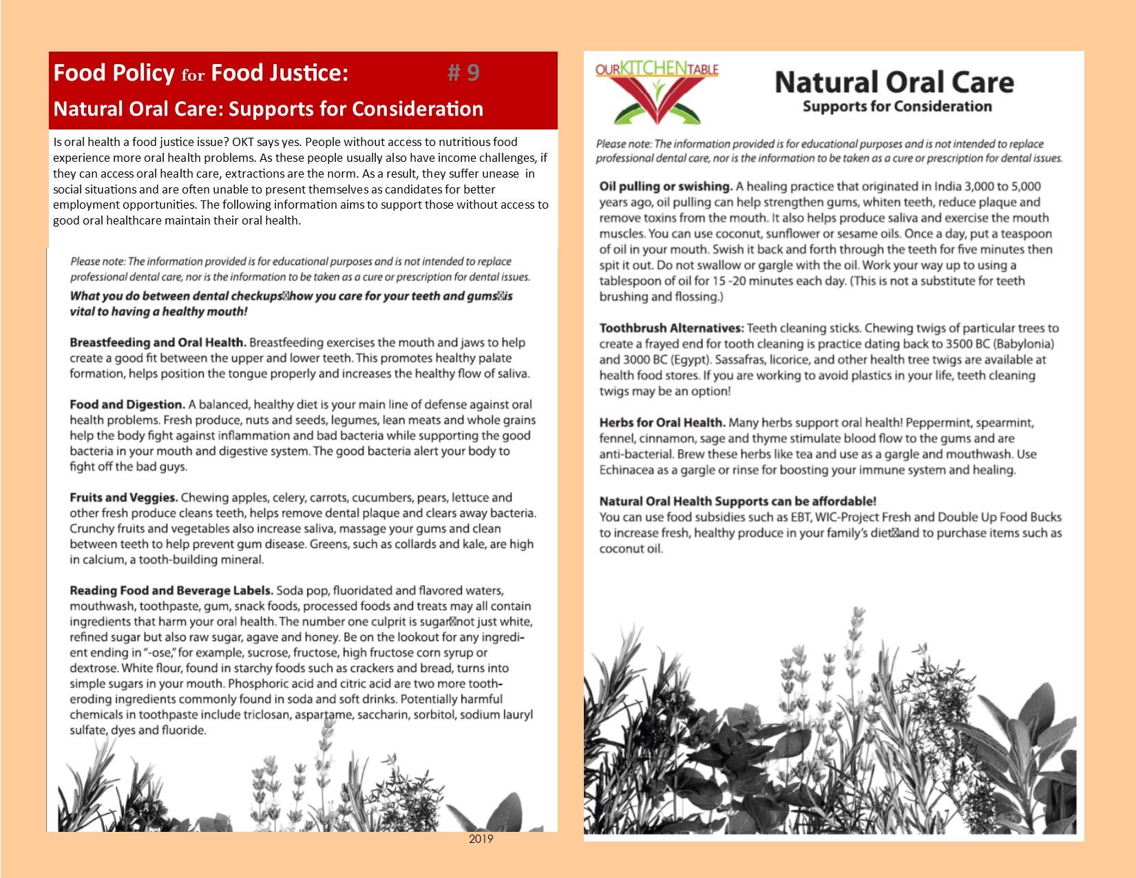 #9 Oral Health P 19